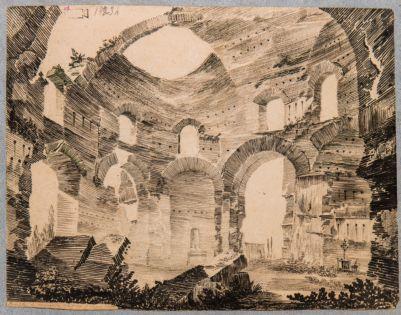 Temple de Minerve Medica a Rome