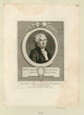 Hennet preoot [sic] de Maubeuge député du baill. d'Avesnes : [estampe]