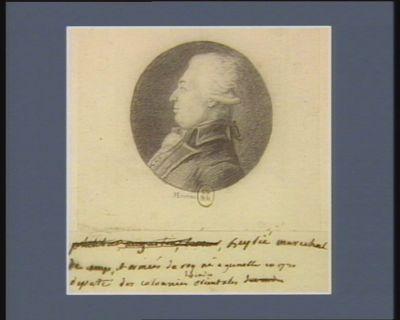 Beybié maréchal de camp et armées du Roy né à Grenoble en 1730 député des colonies des Indes orientales : [dessin]