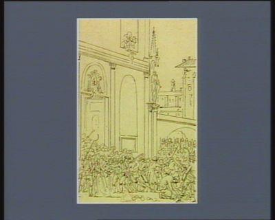 [Evénements du vingt-deux et vingt-trois juillet 1789] [dessin]