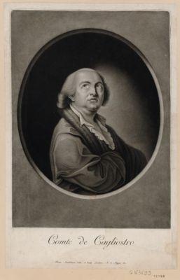 Comte de Cagliostro [estampe]