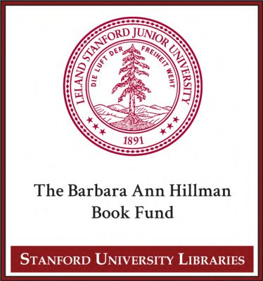 The Barbara Ann Hillman Book Fund