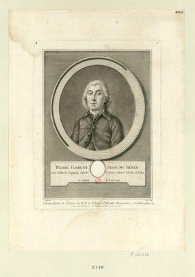 Pierre Florent François Béhin curé d'Hersin Coupigny, député d'Artois, départ.t du Pas de Calais, né <em>à</em> Béthune le 8 avril 1742 : [estampe]
