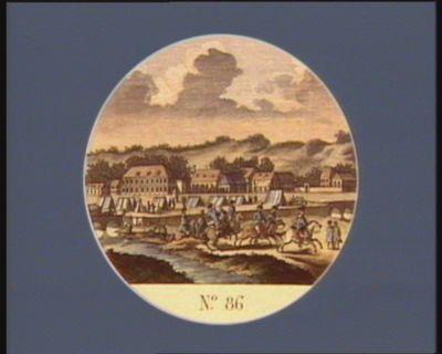N.o 86 19 aout. Emigration du général la Fayette du camp devant Sedan... : [estampe]