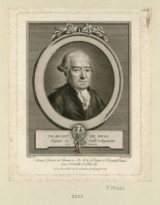 Fr. Ja. Aut. de Hell député du baill. de Haguenau, né le 11 juin 1731 : [estampe]
