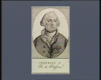 Federigo II ré di Prussia : [estampe]