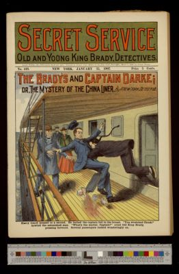 The Bradys and Captain Darke; or, the Mystery of the China Liner