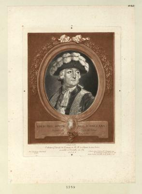 Louis Phil. Joseph. duc d'Orléans deputé de Crepy en Valois, né le 13 avril 1747 : [estampe]