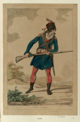 Habit militaire [estampe]
