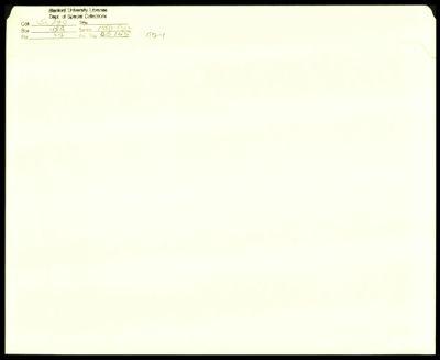 CS 155 1974 - Handout No. 1
