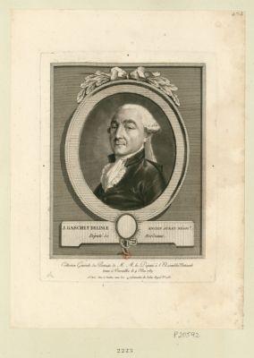 J. Gauchet [i.e. Gaschet] Delisle, ancien jurat negoc.t député de Bordeaux : [estampe]