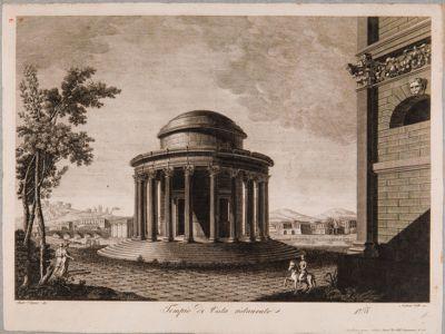 Tempio di Vesta, ricostruzione