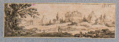 Castel S. Angelo, composizione di monumenti romani