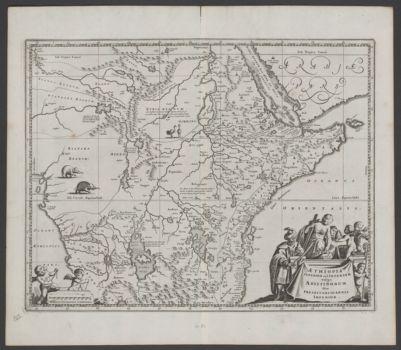 Æthiopia superior vel interior vulgo Abissinorum sive Presbiteriioannis Imperior