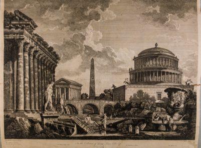 Ricostruzione del mausoleo di Adriano