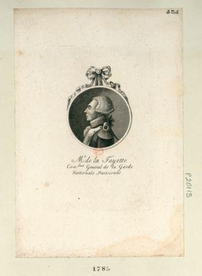 Mr de la Fayette com.dant genéral de la Garde nationale parisienne [estampe]