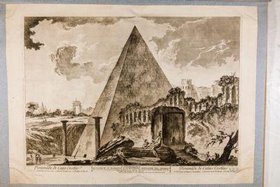Piramide di Caio Cestio e Porta Ostiense