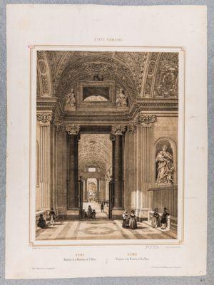 Vestibule de la Basilique de S. Pierre