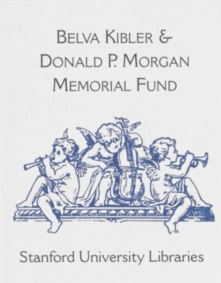 Belva Kibler and Donald P. Morgan Memorial Fund