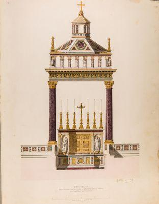 Chiesa di S. Pietro in Vinculis. Confessione, progetto