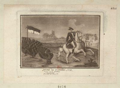 Journée du <em>17</em> juillet <em>1791</em> songez qu'il faudra du courage pour tué ces gens la : [estampe]