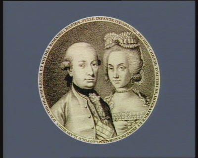 Leopold II , archiduc d'Autriche, Empereur et Roi des Romains Marie-Louise infante d'Espagne, archiduchesse d'Autriche, Imperatrice et Reine des Romains : [estampe]