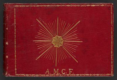 Album amicorum of Amalia Maria Constantia Rådberg (1825-1835)