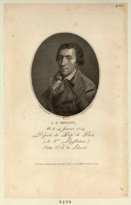 J.P. Brissot né le 14 janvier 1754 député du dep.t de Paris à la 1.ere législature... : [estampe]