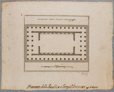 Antoniniani Templi Romani ichnographia