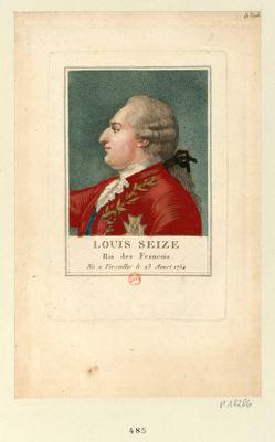 <em>Louis</em> seize Roi des Français né à Versailles le 23 aoust <em>1754</em> : [estampe]