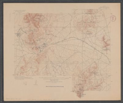 Utah Beaver County Frisco Special Map In Searchworks Catalog