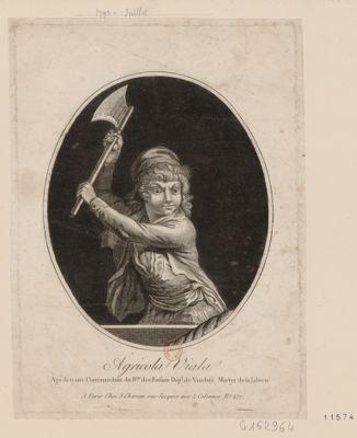 Agricola Viala agé de 11 ans commandant du b.on des enfants dép.t de Vaucluse <em>martyr</em> de la liberté : [estampe]