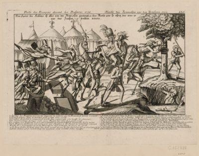 Fuite des François devant les Prussiens, 1792 [estampe]
