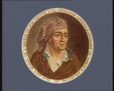 Jean Paul Marat, né à Genève [estampe]