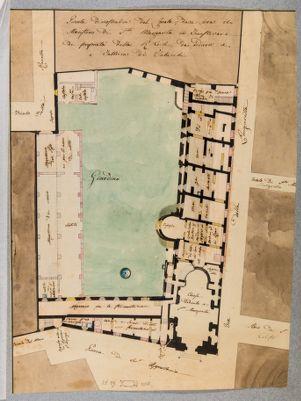 Palazzo della Manifattura dei Tabacchi, pianta