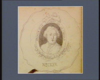 Necker l'espoir et le sotient [sic] de la France : [dessin]