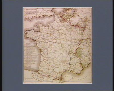 Carte générale du théatre de la guerre du 20 avril 1792 au 27 juillet 1794 ou 9 thermidor an 2 de la République française [estampe]