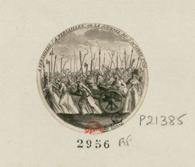 A Versailles ! A Versailles ou la journée du 5 octobre 1789 : [estampe]