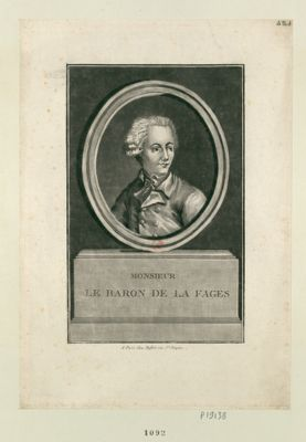 Monsieur le baron de La Fages [estampe]