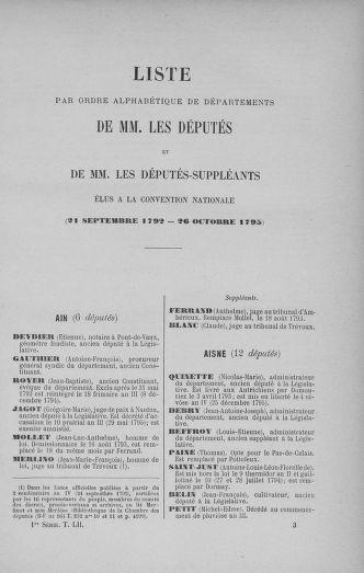 Tome 52 : Du 22 septembre au 26 octobre 1792 - page 33