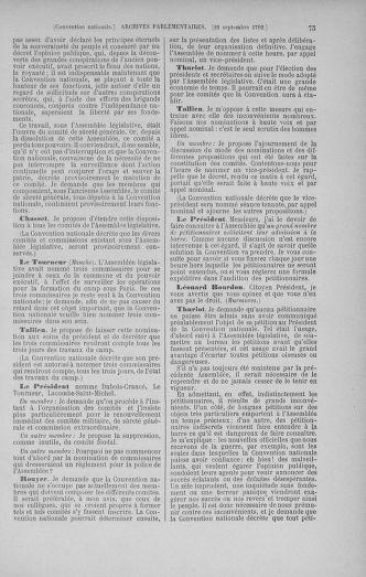 Tome 52 : Du 22 septembre au 26 octobre 1792 - page 75