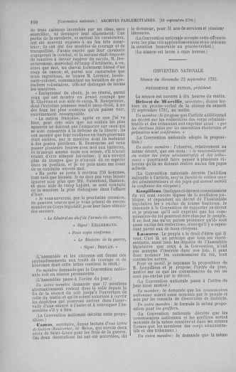 Tome 52 : Du 22 septembre au 26 octobre 1792 - page 100