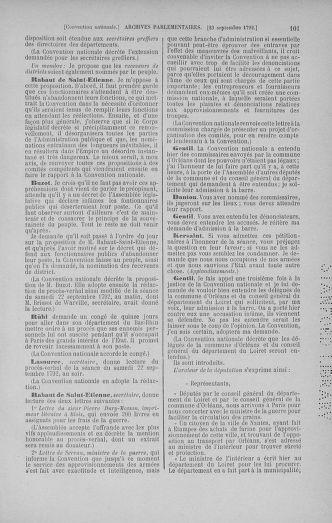 Tome 52 : Du 22 septembre au 26 octobre 1792 - page 101