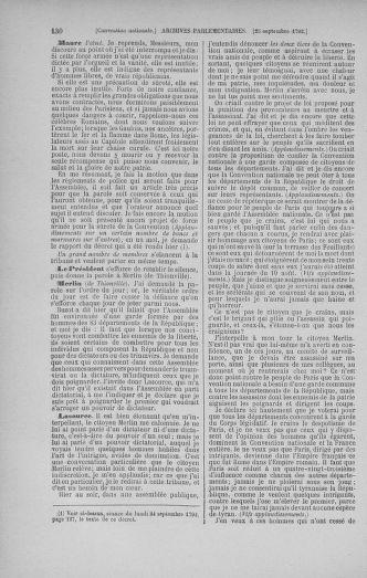 Tome 52 : Du 22 septembre au 26 octobre 1792 - page 130