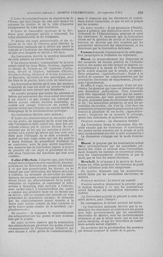 Tome 52 : Du 22 septembre au 26 octobre 1792 - page 153