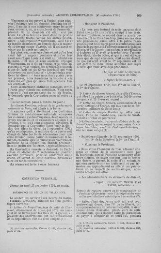 Tome 52 : Du 22 septembre au 26 octobre 1792 - page 169