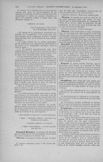 Tome 52 : Du 22 septembre au 26 octobre 1792 - page 182