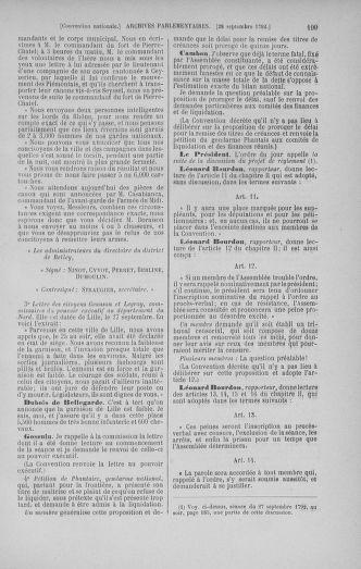 Tome 52 : Du 22 septembre au 26 octobre 1792 - page 199
