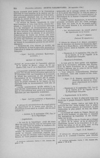 Tome 52 : Du 22 septembre au 26 octobre 1792 - page 210