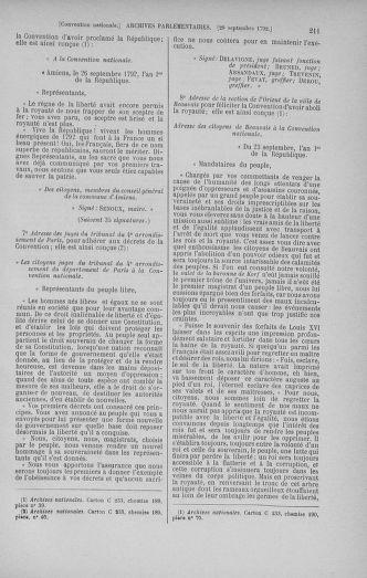 Tome 52 : Du 22 septembre au 26 octobre 1792 - page 211